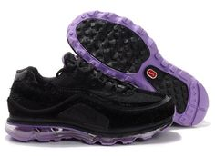 new style 1dfe1 77318 Nike Air Max 24-7 Neno Mens Black Purple