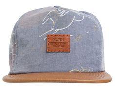 Sheets Strapback Cap by KATIN