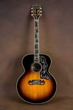 Gibson SJ-200 Master Museum Custom Acoustic Guitar! J-200