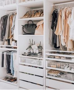small closet ideas, Closet Designs, wardrobe design, walk-in closet ideas, dressing room ideas Walk In Closet Design, Bedroom Closet Design, Master Bedroom Closet, Closet Designs, Diy Bedroom, Bathroom Closet, Walk In Closet Ikea, Master Bedrooms, Small Walk In Closet Ideas