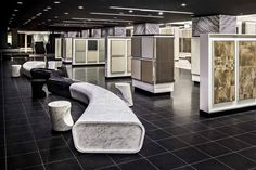 The Olympia Tile Showroom: In 2015, it was redesigned by II by IV Design and nominated for best retail design by the prestigious International Design Excellence Awards.