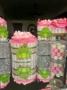 25 Best Frog Baby Shower Images Frog Baby Showers Baby Boy Shower
