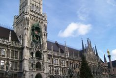 Munich, Germany at Christmas time