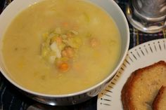 Failsafe Foodie: Chickpea and Leek Soup