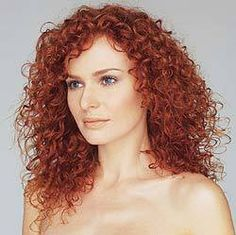 Red - Ginger Curly Hair