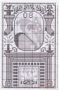 Santa Collection • 2/2 : Santa 2008 Design #2 Chart