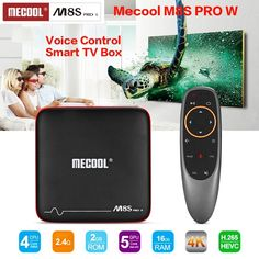 Mecool M8S PRO W Voice Control Smart TV Box Android 7.1 Amlogic S905W 2GB 16GB HDMI Stalker MAG625X Set-top Box PK X96 mini  Price: $ 74.99 & FREE Shipping   #computers #shopping #electronics #home #garden #LED #mobiles