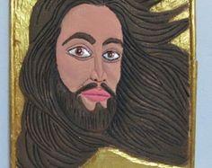 Quadro em Madeira - Jesus