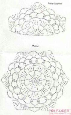 Pattern for crochet top