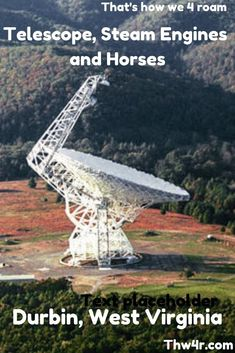 Durbin, West Virginia is in the middle of nowhere but they have the Green Bank Radio Telescope, Steam Train engine rides and camping with your horse. Travel Usa, Travel Tips, Canada Travel, Travel Ideas, Kentucky Attractions, Back Road, Swimming Holes, Train Rides, Nebraska