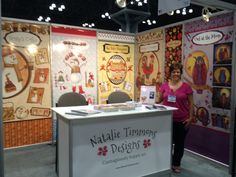 Natalie Timmons Designs debuts at Surtex 2013, booth #764. Read my recap of 5 things I did well and 2 things I want to do differently.