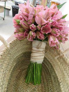 ARTE FLORAL JUDITH JORDÀ: Ramos De Novia .bouquet rosa