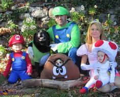 Super Mario Brothers - 2015 Halloween Costume Contest via @costume_works