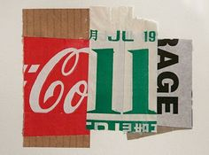 Alan Fletcher Collage via Three's a Crowd Wort Collage, Collage Art, Collages, Photomontage, Yale School Of Art, Art Nouveau, Collage Making, Royal College Of Art, Hand Type