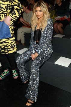 Celebrity Style at New York Fashion Week Spring 2016 | StyleCaster