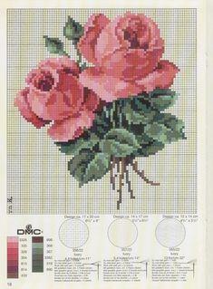Points de croix *@* Roses