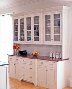 Efficient Free Standing Kitchen Cabinets: Using antique, freestanding kitchen ca. - Efficient Free Standing Kitchen Cabinets: Using antique, freestanding kitchen ca. Free Standing Kitchen Cabinets, Free Standing Kitchen Pantry, Kitchen Pantry Cabinets, Kitchen Cabinet Design, Kitchen Redo, New Kitchen, Kitchen Remodel, Kitchen Ideas, Glass Cabinets