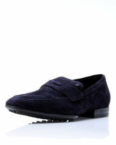 Tod's Suede Loafers - Loafers - Shoes at Viomart.com