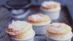 Simple Vanilla Soufflé from Adorno Magazine. A great recipe that really breaks down this complicated dessert so anyone can make it!