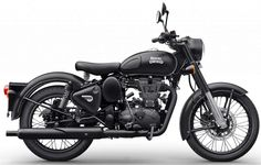 Royal Enfield Classic 350 Gunmetal Gray and Classic 500 Stealth Black launched in India. The Royal Enfield Classic 350 Gunmetal Gray is valued at INR Motos Royal Enfield, Enfield Bike, Enfield Motorcycle, Bobber Motorcycle, Motorcycle Engine, Royal Enfield Bullet, Classic 350 Royal Enfield, Enfield Classic, Street Bikes
