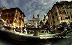 "Fede Castro ""Roma"" Gate, Clouds, Videos, Travel, Rome, Viajes, Portal, Destinations, Traveling"