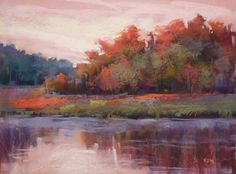 Painting My World: A Magic Trick for Painting Reflections with Pastel...