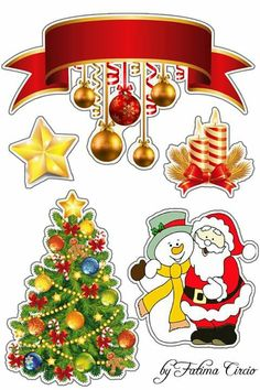 Diy Christmas Crafts To Sell, Diy And Crafts, Crafts For Kids, Paper Crafts, Christmas Clipart, Christmas Stickers, Christmas Printables, New Years Decorations, Christmas Decorations