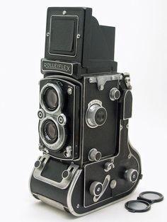 Rollei 90mm roll film camera