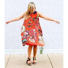 Larkhill Swing Dress #Anthropologie #MyAnthroPhoto