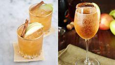 5 lyxiga drinkar med cava eller annat bubbel   ELLE Cocktail Night, Cocktail Drinks, Alcoholic Drinks, Beverages, Cocktails, Fabulous Foods, Yummy Drinks, Gingerbread Cookies, Apple Cider
