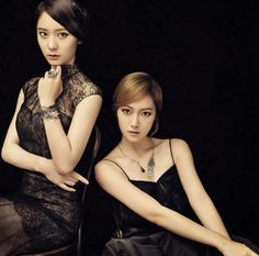 The Jung Sisters Krystal and Jessica for Stonehenge jewellery