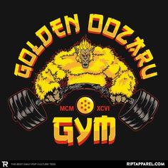 The Golden Oozaru Gym – RIPT Apparel