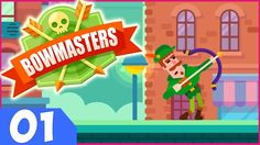 Bowmasters Gameplay Ep1 - iOS/Android Games