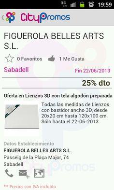 Figuerola Belles Arts - Promoción Citypromos