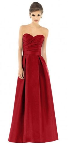 Garnet #Red #Bridesmaid #Dresses ♥ For an easy-to-follow 'Wedding Planning Guide' ... https://itunes.apple.com/us/app/the-gold-wedding-planner/id498112599?ls=1=8 ♥ For more wedding inspiration ... http://pinterest.com/groomsandbrides/boards/ & magical wedding ideas.