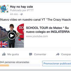 Habéis visto el tour por el colegio de Mateo? Muy interesante! #schooltour @mateo_the_boss_374