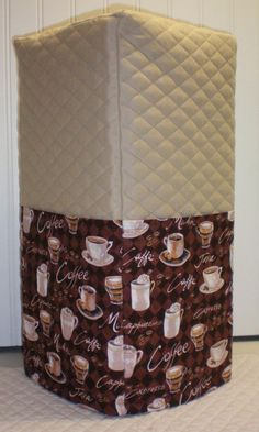 Check out this item in my Etsy shop https://www.etsy.com/listing/225783266/tan-quilted-coffee-cover-for-ninja