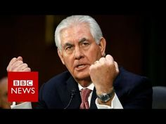 Senate Confirms Former Exxon Mobil CEO Rex Tillerson For Secretary Of State In China, China Russia, Cuba, Rex Tillerson, Democrats And Republicans, Us Senate, About Climate Change, Us Government, Connect The Dots