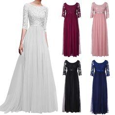 iLOOSKR Fashion Ladies Long Dress High Collar Solid Color Loose Dress