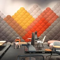 Decorative Acoustic Tiles Aircone  Acoustic Panel  Suspended Felt Acoustics Panels