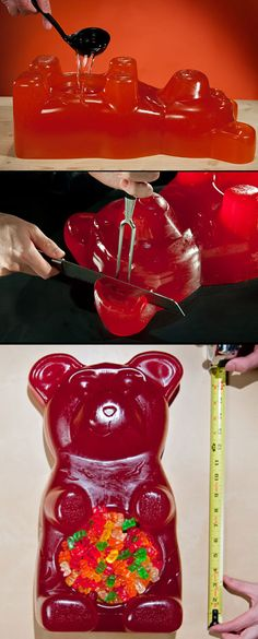26-Pound Gummy Bear is Largest in the World