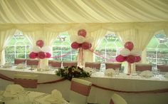 Cloud 9 Balloon Displays - Balloons chair cover hire wedding parties surrey
