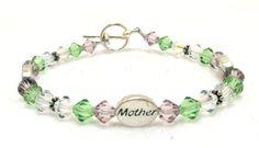 Mother/Love/Forever Swarovski Crystal Custom by EledesignbyLauren, $40.00