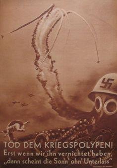 TOD DEM KRIEG POLYPEN !/ DEATH OF (TO?) THE WAR OCTOPUS! , 11 August 1937 John Heartfield