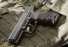Heckler & Koch's new striker-fired pistol, the VP9.