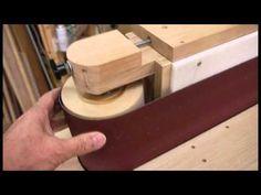エッジサンダーの製作(横型ベルトサンダー) - YouTube