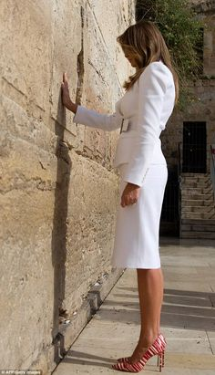 Ivanka Trump dons somber outfit for Israel visit #dailymail