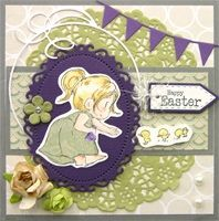 Handmade card by Rena using Dreamerland Craft stamp