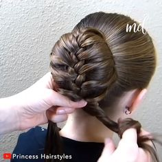 The hairstyles you have been looking for your little one! The post BUN HAIRSTYLE IDEAS appeared first on All About Credit. Easy Hairstyles For Medium Hair, Girl Hairstyles, Braided Hairstyles, Wedding Hairstyles, Donut Bun Hairstyles, Sporty Hairstyles, Workout Hairstyles, School Hairstyles, Braided Updo
