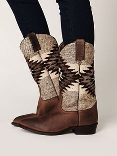 Billy Blanket Boot by Frye #frye #boots